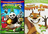 Dreamworks Animation 2-Movie Set - Kung Fu Panda 3 & Hammys Nutty-Fun DVD-ROM 2-DVD Bundle