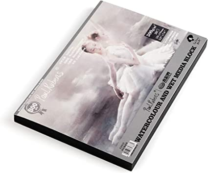 """Paul Rubens - Cuaderno de acuarela, color Cubierta-01 7.6"""" x 5.3 ..."""