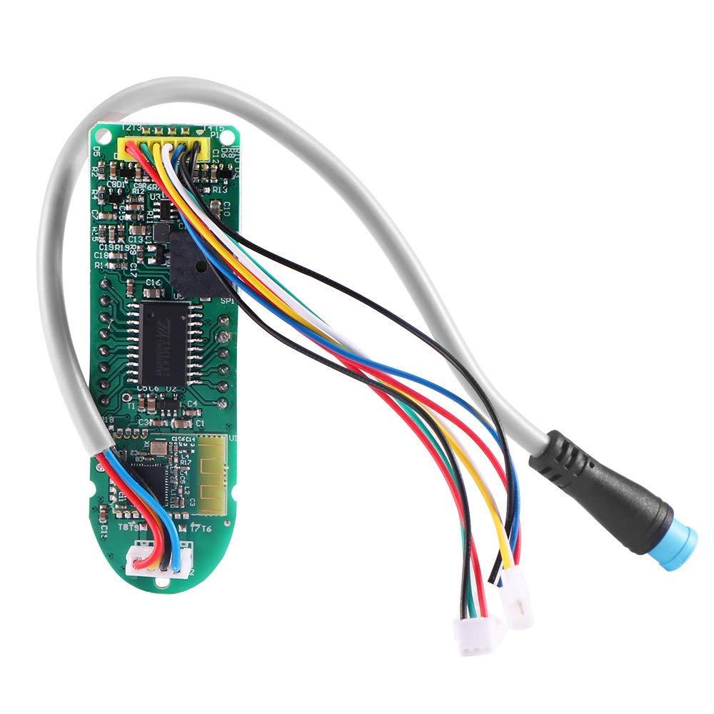 WELLSTRONG Original Dashboard for Xiaomi MIJIA M365//Pro Electric Scooter Circuit Board Contain Screen Cover