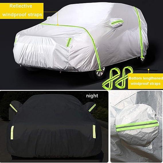 Couverture de voiture B/âche Voiture Compatible avec BMW X3 Housse de protection contre la poussi/ère universel quatre saisons tous temps anti-rayures anti-pluie anti-rayures
