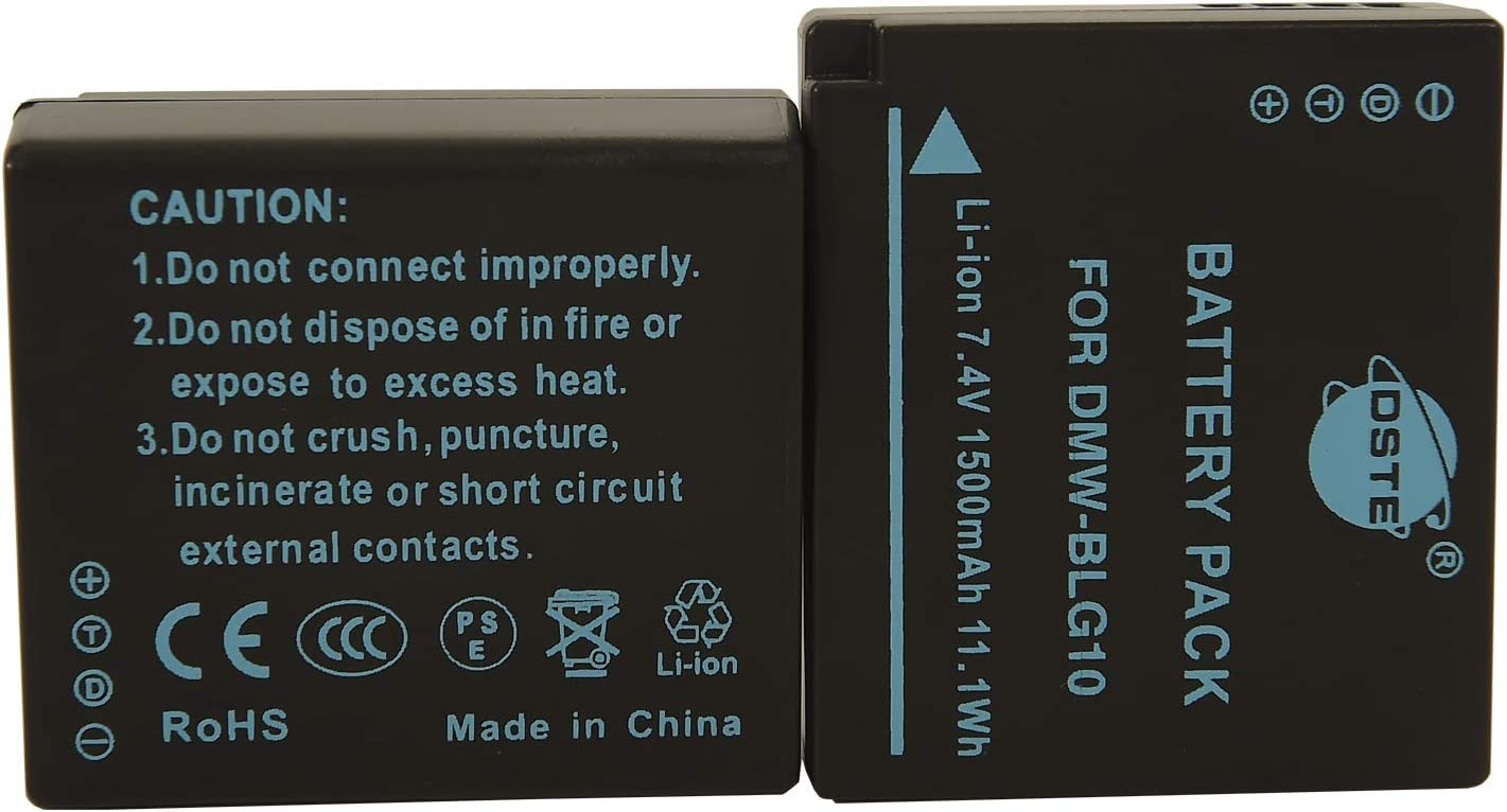 UK Battery for Panasonic Lumix DMC-GF3 DMW-BLE9 DMW-BLE9E 7.4V RoHS