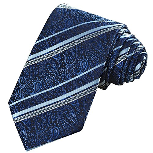 white Diamond Classic Woven Necktie