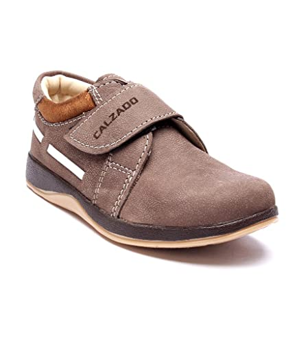 a2a9c7e95b2 Calzado Boys Casual Shoes BROWN-2004-37  Amazon.in  Shoes   Handbags