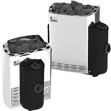 Sauna estufa eléctrica Sawo MINI/MINI X NB Trendline 3,6 kW; Con