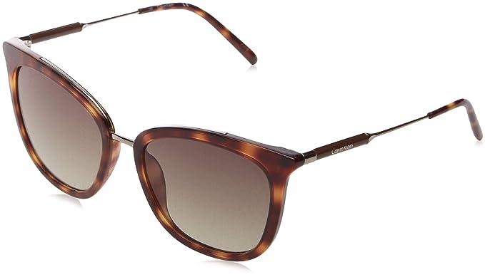Calvin Klein Ck3201s Gafas de sol, Blonde Havana, 56 para ...