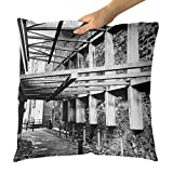 Westlake Art - Connecting Frame - Decorative Throw Pillow Cushion - Picture Photography Artwork Home Decor Living Room - 18x18 Inch (5FE71)