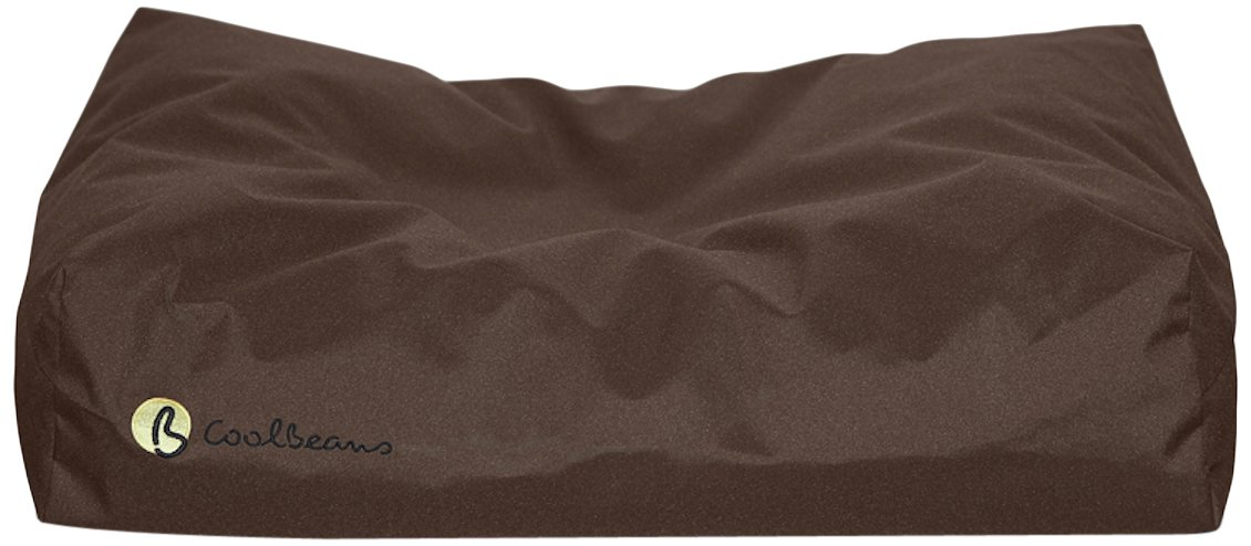 Chocolate Small Chocolate Small Coolbeans Dog Bed, 40 x 60 x 15 cm, Chocolate