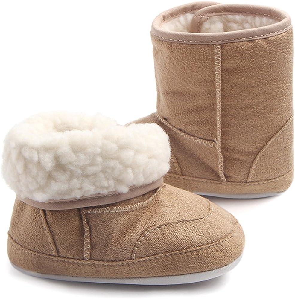 Matt Keely Enfants Gar/çon Fille Bottes de Neige B/éb/é Hiver Chaussures Bambin Bottines