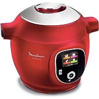 Moulinex - ce851500 - Multicuiseur intelligent 6l 1600w rouge cookeo +