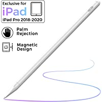 Stylus Pen for iPad with Palm Rejection, (2018-2020) iPad Pencil with Magnetic Design for Apple iPad, iPad (6/7 Gen)/iPad Pro (11/12.9 inch)/iPad Mini Gen 5/iPad Air Gen 3, Rechargeable Active Stylus