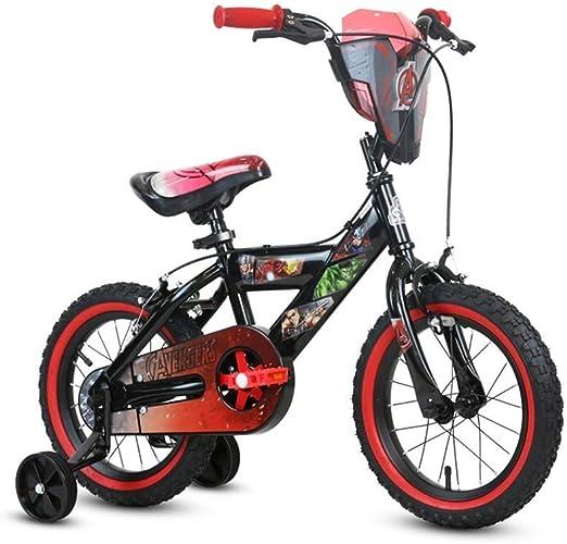 MDYMX Bicicleta para niños Bicicleta Infantil Pedal Bicicleta 14 ...