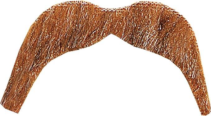 Fake Moustache Men/'s Fancy Dress Costume Accessories NEW Seventies Tash