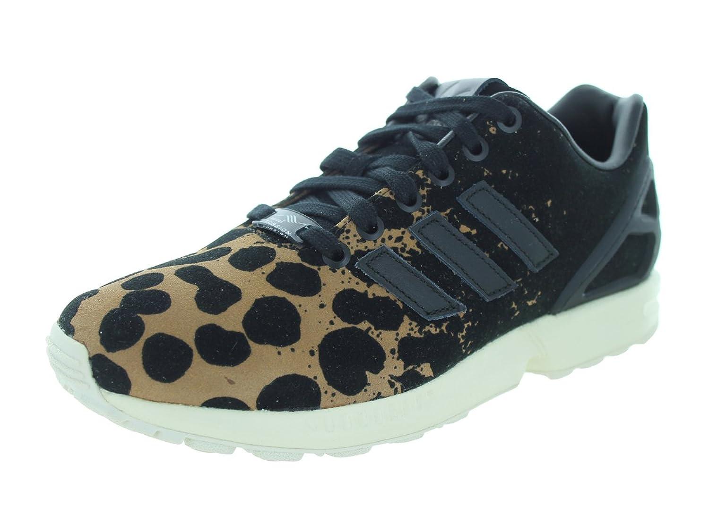 adidas Originals ZX Flux Trainers Womens Sports footwear Womens Trainers COLOUR-black print