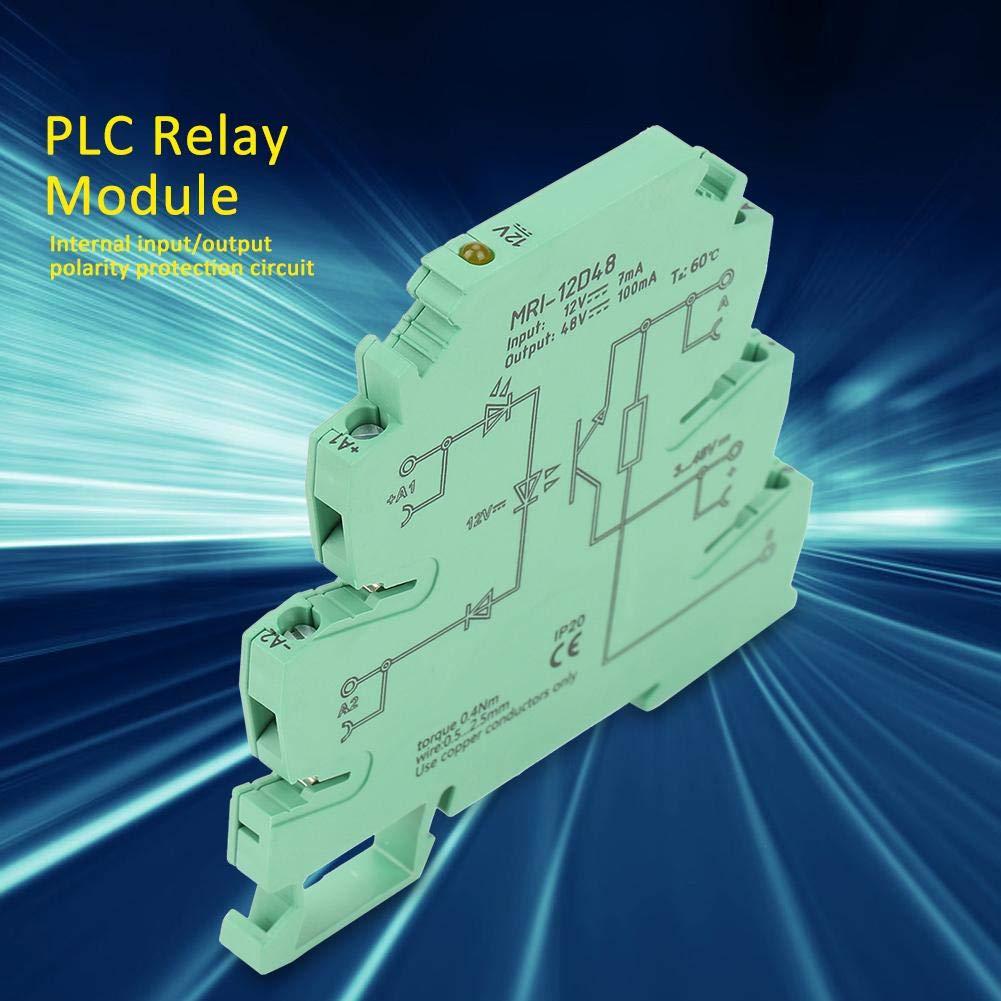 NITRIP-Elektromotorsteuerungen MRI-12D48 Hoch und Niedrigpegel-Trigger-PLC-Optokoppler-Isolationssteuerung 12-V-Relais