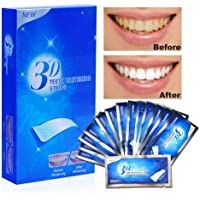 Aiooy Teeth Whitening Strips, Dental Enamel Safe Teeth Bleaching Treatment for Crystal Smile Non-Peroxide Whitener Kit Professional Remover of Teeth Stain Mint Flavor 28pcs