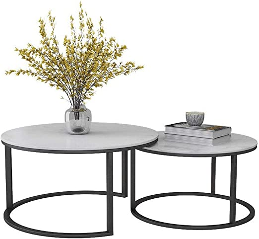 Home Selected Furniture Modern Geometric Nesting Coffee Tables