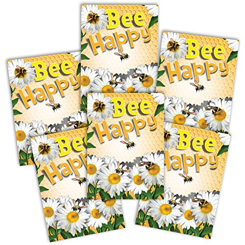 (Set of 25 Seed Packet Favors (F09) Bee Happy Pollinator Mixture)