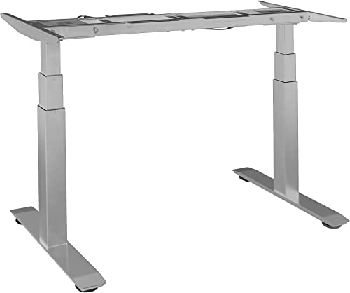 Seville Classics Airlift S3 Electric Height Adjustable Standing Desk Frame