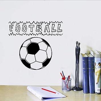 Wmbz balón de fútbol tatuajes de pared de fútbol jugar calcomanía ...
