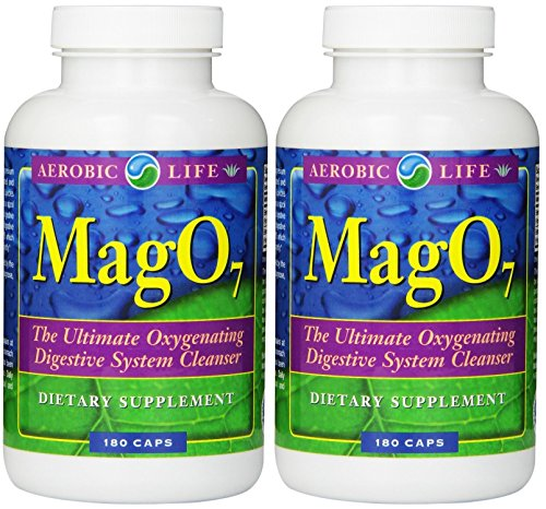photo Wallpaper of -Aerobic Life Mag 07 Oxygen Digestive System Cleanser Capsules (180-