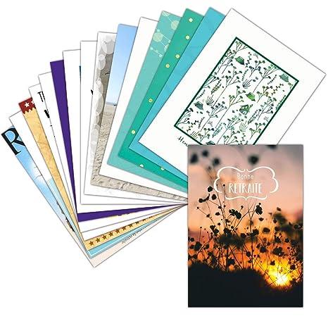 Tarjeta despedida en Retraite - Lote de 16 tarjetas ...