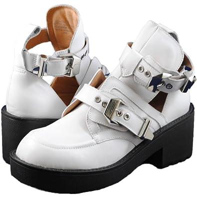 Jeffrey Campbell COLTRANE COLTRANE Campbell bianca Nero 8.5   scarpe ddc55f