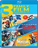 Rio / Robots / Horton Hears a Who Triple Feature Blu-ray
