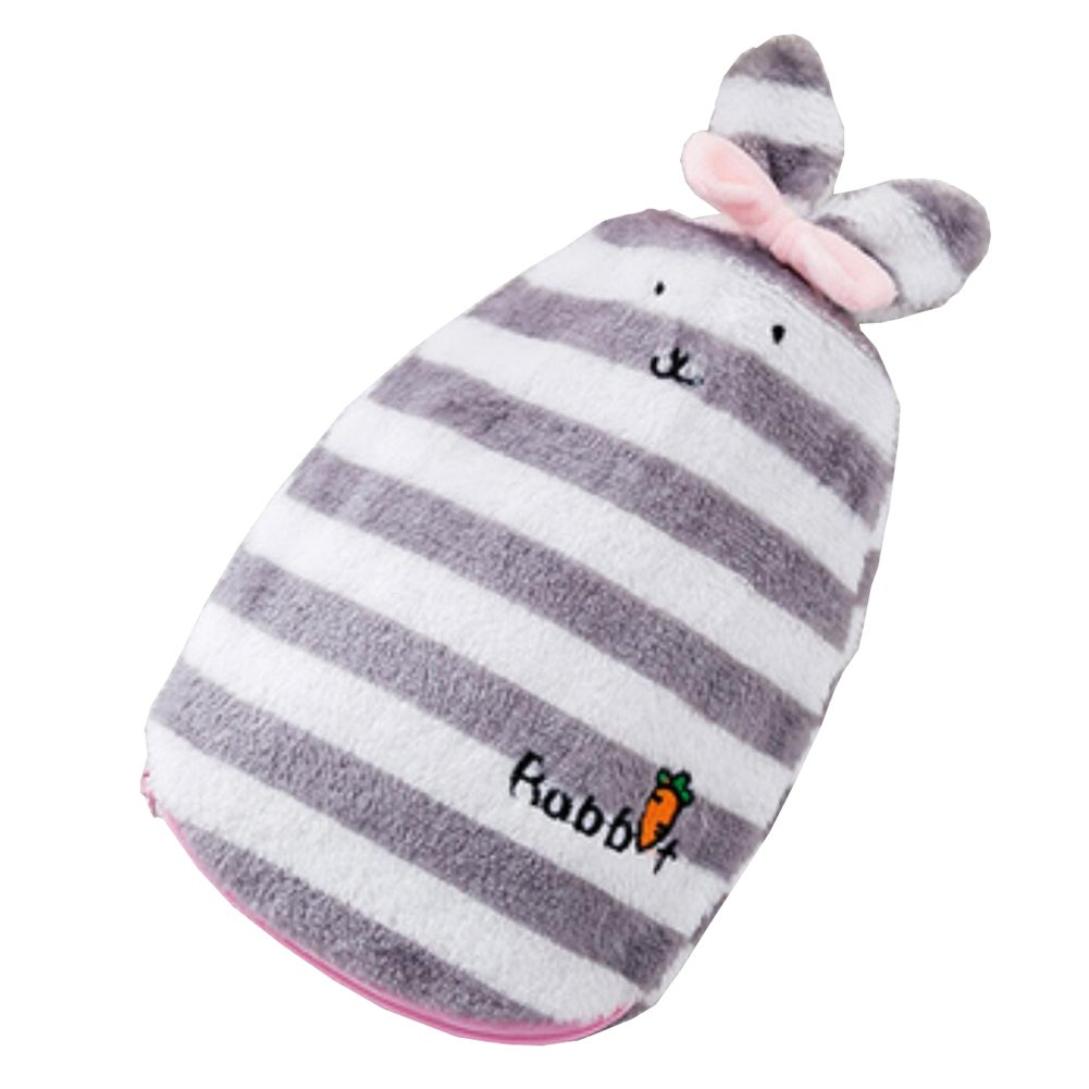 Hot Water Bottle With Cover Hot & Cold Relief Plush Rabbit 350 ML-#01