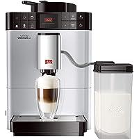 Melitta Machine à Café et Boissons Chaudes Automatique, Auto Cappucinatore, Fonction One Touch, My Bean Select, Caffeo Varianza