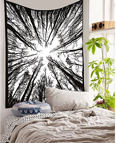 Exclusive Locust Trees Forest Tapestry By