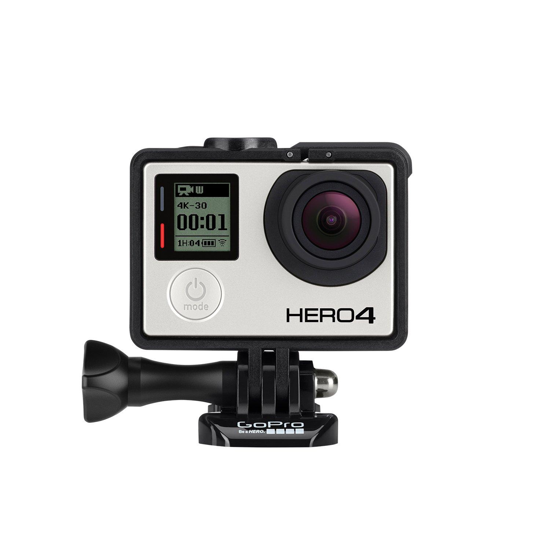 GoPro HERO4 Silver Music Edition - Videocámara Deportiva (12 MP, Wi-Fi, Bluetooth, Sumergible hasta 40 m), (versión Alemana)