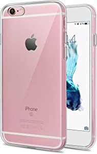 iPhone 6/6s plus Clear Case, Crystal Transparent Soft TPU , Full Body Shockproof and Scratch Protection Compatible 5.5 inch iPhone 6/6s plus (Clear )