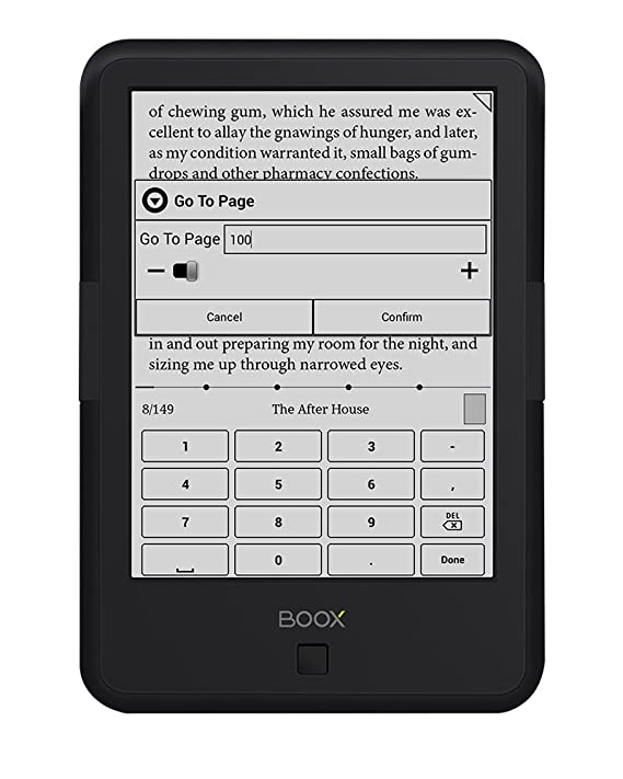 Lector E-Book BOOX C67 ML Carta2+, 6