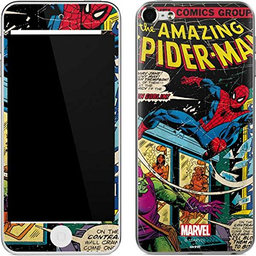 Marvel Comics iPod Touch (6th Gen, 2015) Skin - Marvel Comics Spiderman Vinyl Decal Skin For Your iPod Touch (6th Gen, 2015)