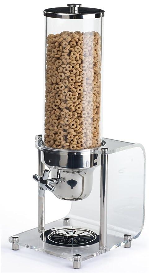 Smart Buffet Ware moderno acrílico base único seco dispensador de alimento portion-control para encimera