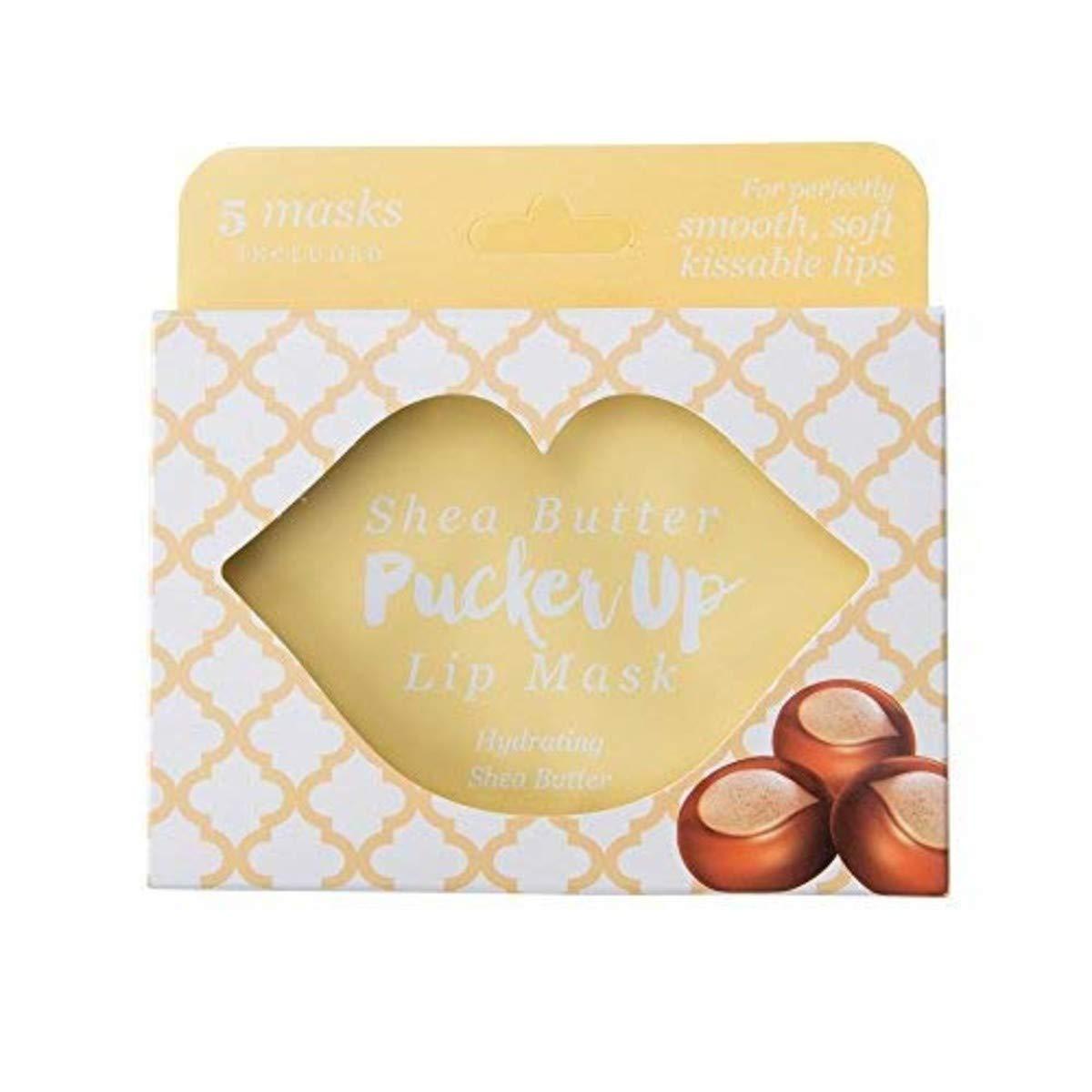 Pucker Up, Lip Mask, Skin Care, Balms & Moisturizers - Set of 5, Shea Butter