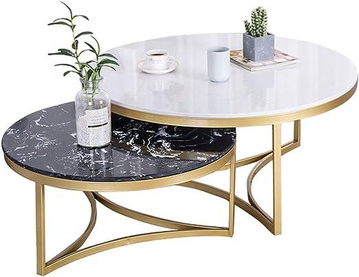 Mesa de anidamiento de mármol Mesas de Centro de Mesa de café ...