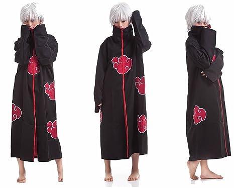Lylas disfraces de Cosplay Naruto Akatsuki Ninja uniforme ...