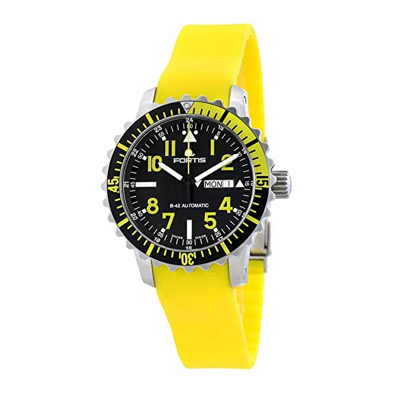 Fortis Marinemaster automática reloj para hombre 670.24.14 si. 04