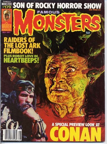 Famous Monsters of Filmland 179 CONAN Raiders of the Lost Ark HALLOWEEN II Richard Matheson SHOCK TREATMENT November 1981 C