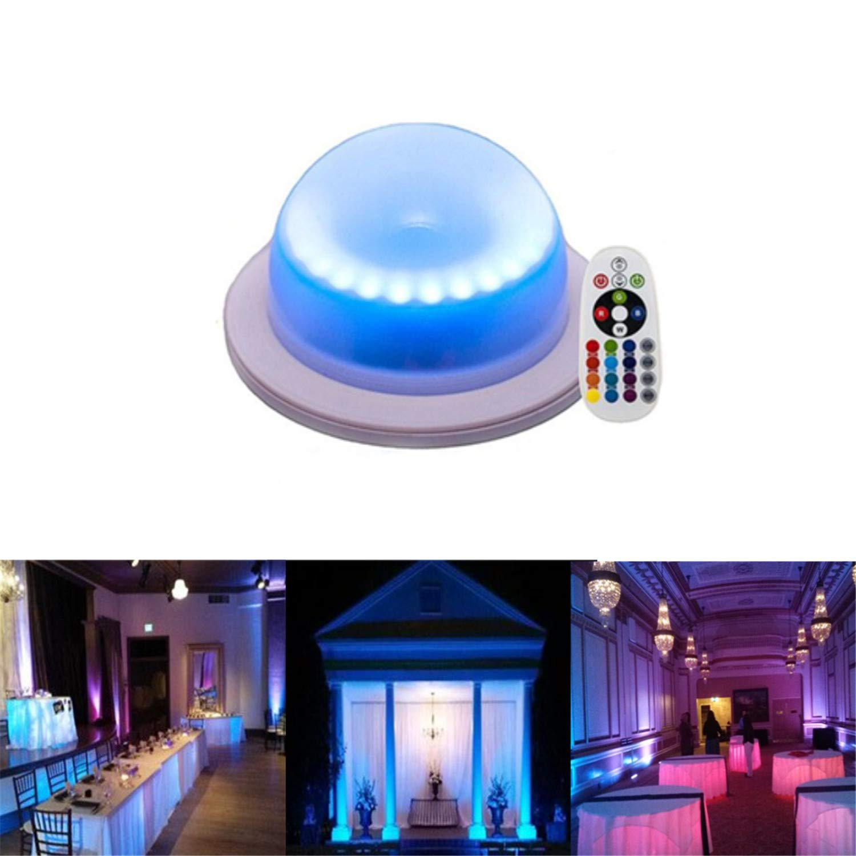 ARDUX 18LED Under Table 16 Colors Change Wedding DecorationLights//Remote Control