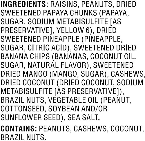 Amazon Brand - Happy Belly Amazon Brand Tropical Trail Mix, 44 ounce by Happy Belly (Image #4)