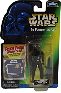 Star Wars: Power of the Force Freeze Frame Tie Fighter Pilot Action Figure