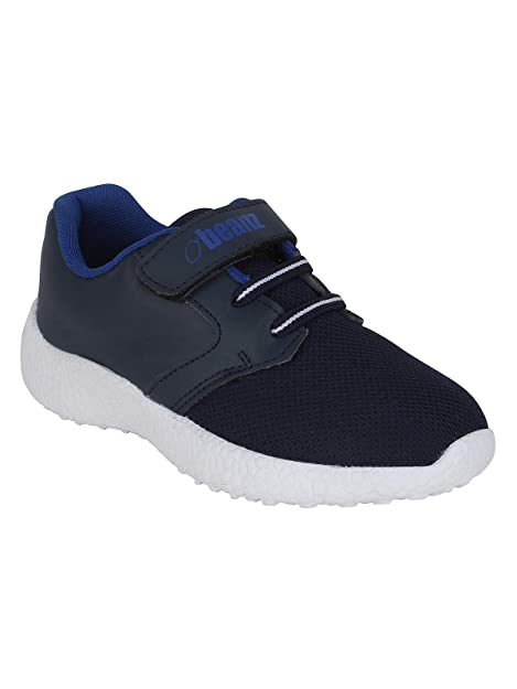 Buy Beanz Navy Blue Smart Casual Shoes