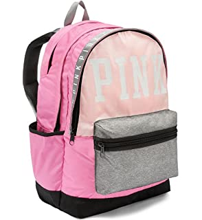 Victoria s Secret Pink Campus Backpack Multi Pink Grey 56ef05db956cd