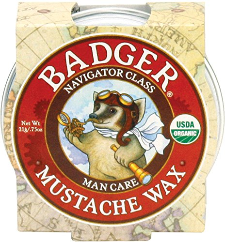 Badger Mustache Wax 75oz Tin product image
