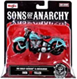 "1946 Harley-Davidson FL Knucklehead * John ""JT"" Teller * Sons of Anarchy 2014 Maisto 1:18 Scale Motorcycle"