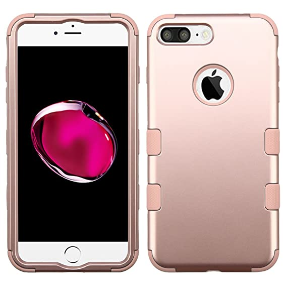 Asmyna Cell Phone Case For Apple Iphone 7 Plus Rose Goldrose Gold