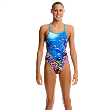 c587cccf75f Funkita girls fantasy Reef single strap, one piece, Girls, Fantasy Reef, 164