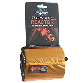 Sea to Summit Thermolite Reactor Mummy - Sacos de dormir - Long negro 2017: Amazon.es: Deportes y aire libre